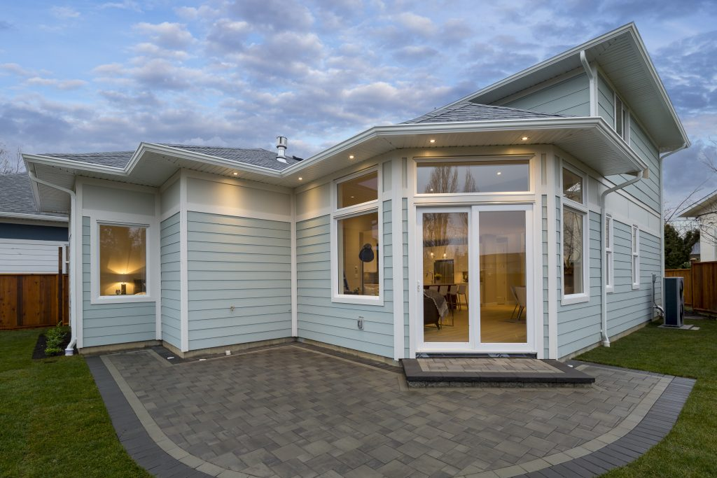 Custom Home built by Thistle Construction in Victoria BC
