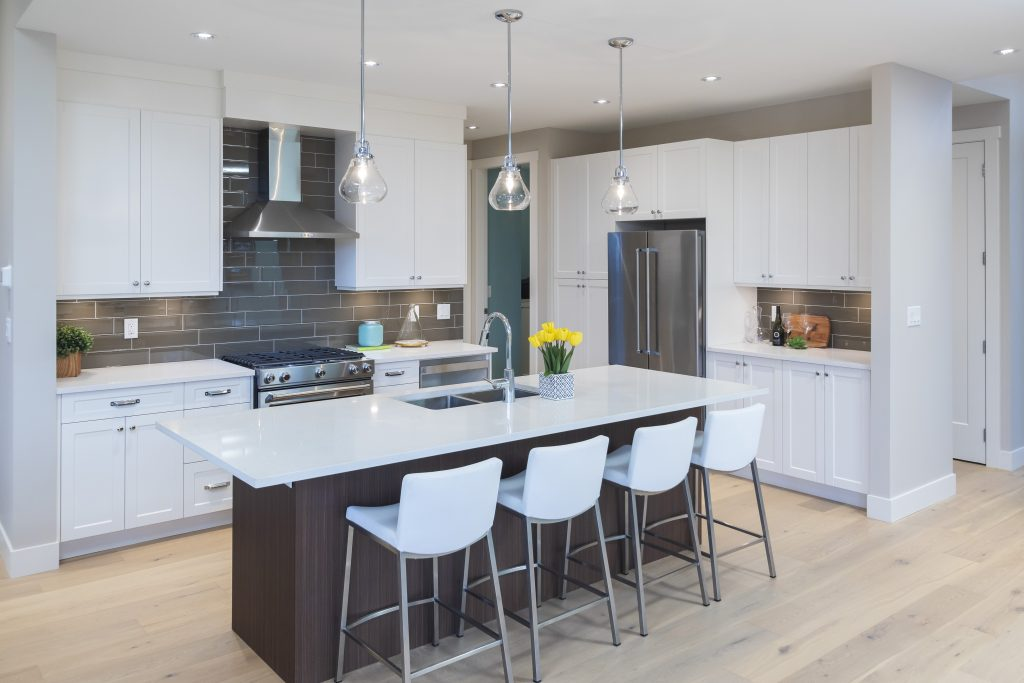 Custom kitchen by Thistle Construction Victoria BC