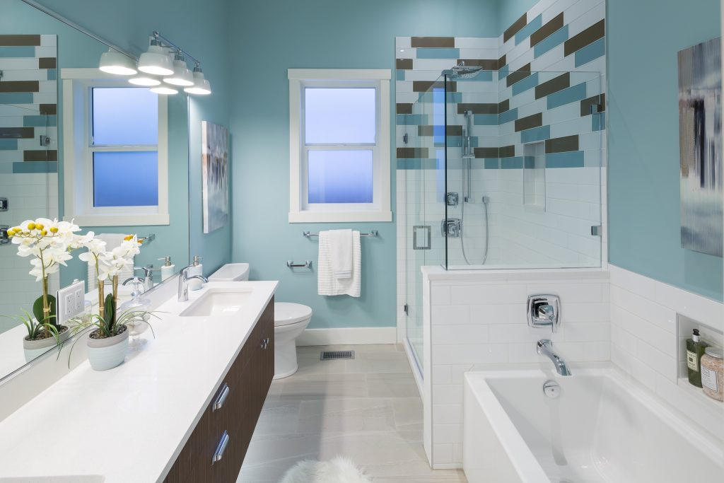Bathroom built by Thistle Construction Victoria BC