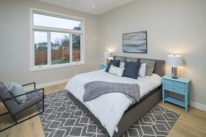 Custom bedroom by Thistle Construction Victoria BC