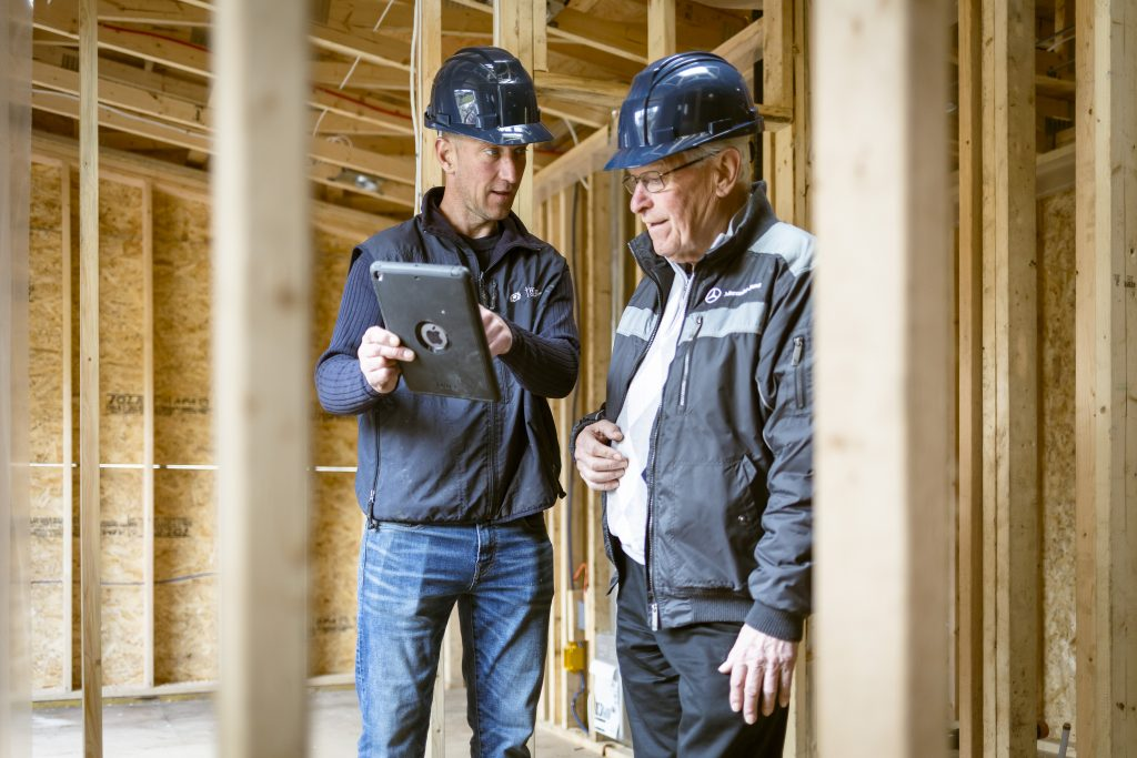 Donnie of Thistle Construction is a project manager