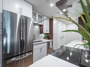 Condo Kitchen renovation by Thistle Construction Victoria BC