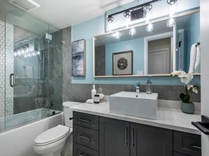 Condo Bathroom Renovation by Thistle Construction Victoria BC