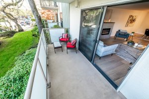 outdoor patio connected to an indoor space by Thistle Construction Victoria BC