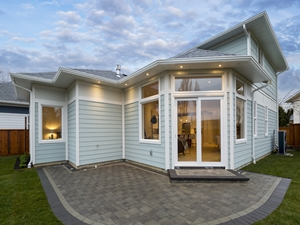 Custom Home built by Thistle Construction Victoria BC