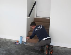 Custom work goes into a garage by Thistle Construction Victoria BC