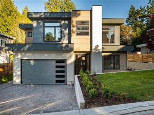 Dream Home by custom home builders Thistle Construction Victoria BC