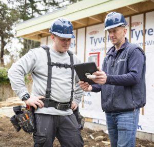 Thistle Construction crew