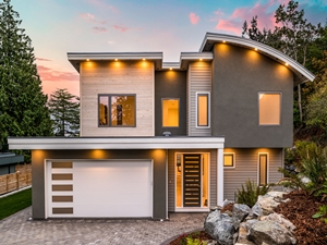 Custom Home number 3 at Moss Rock by Thistle Construction Victoria BC